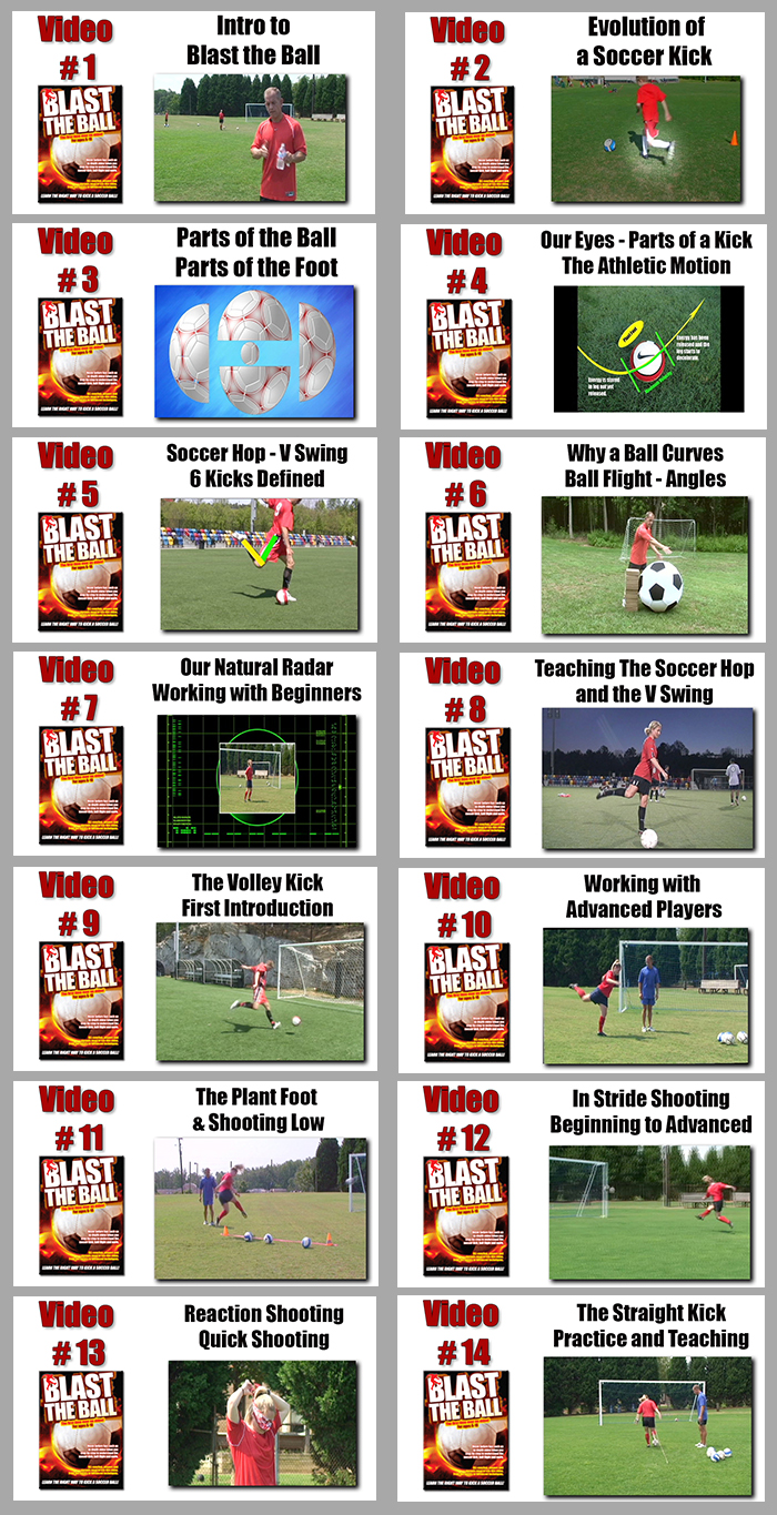 Blast The Ball soccer video